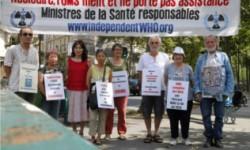 Die Mahnwache im August 2014 – Genf und Paris