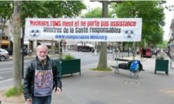 Die Mahnwache im Oktober 2016 – Genf und Paris
