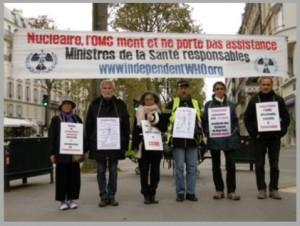 Mahnwache vor dem Gesundheitsministerium in Paris – Oktober 2016