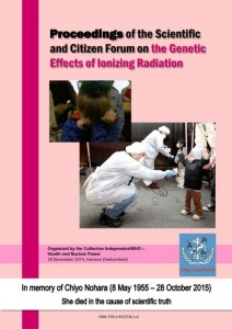 Proceedings of the Forum on the Genetic Effects of Ionizing Radiation