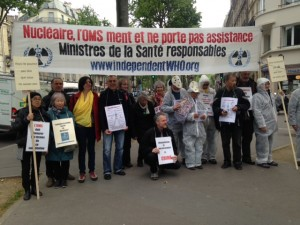 Last Vigil at the Ministry of Health in Paris on 5th May 2017