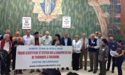 Les intervenants du forum sur la radioprotection - Genève - Mai 2012