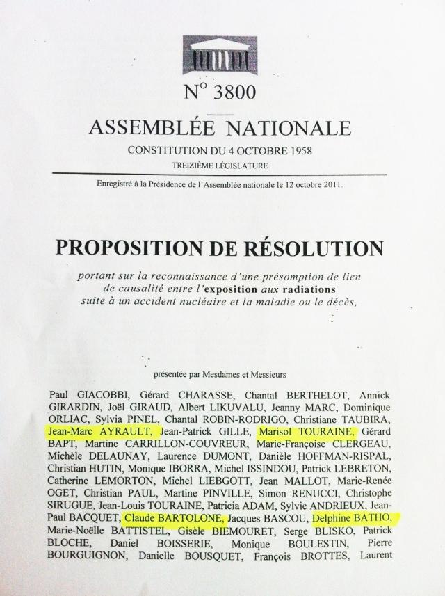 Proposition de résolution - Corse