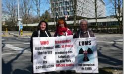 Les vigies de mars 2014 à Genève et Paris
