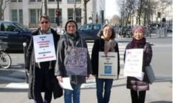 les vigies de mars 2015 à Genève et Paris
