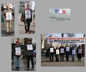 Les vigies de mars 2016 à Paris