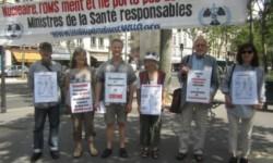 Les vigies de juillet 2016 à Genève et Paris