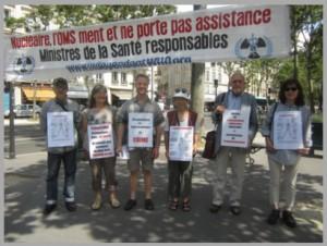 Les vigies de juillet 2016 à Paris