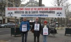 Les vigies de janvier 2017 à Genève et Paris