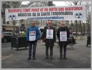 Les vigies de janvier 2017 à Paris