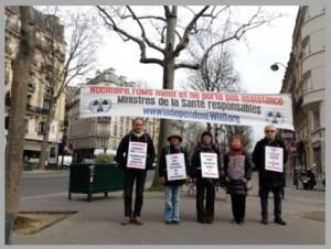 Les vigies de mars 2017 à Paris