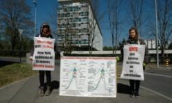 Les vigies d'avril 2017 à Genève et Paris
