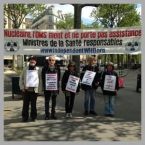 Les vigies d'avril 2017 à Paris